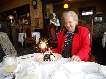 Chef Ilona Szabo, Helen Czegeny is 85