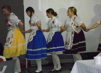 Hungarian Dancers from the Brantford Hungarian Hall (Albion Street)